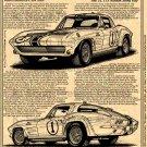 1963 Z06 Gulf One Corvette Illustrated Series No. 152