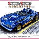 1963 Roger Penske Grand Sport Corvette Roadster