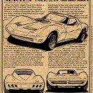 1966 Mako Shark II Show Car Corvette Illustrated Series No. 28
