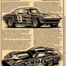 "'67 - '69 L-88 Corvette Racers ""Bringing Back Racing Respect"" Illustrated Series No. 131"