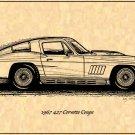 1967 427 Corvette Coupe Profile