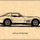 1968 427 Corvette Coupe Profile