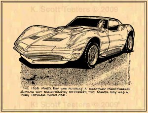 1968 Manta Ray Corvette Show Car