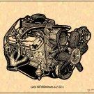 1969 All Aluminum Big-Block 427 ZL-1 Engine