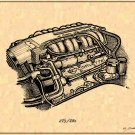 1990 - 1995 350 LT5 ZR1 Engine