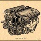 2006 - 2007 427 LS7 Z06 Engine