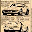 1969 ZL-1 Corvette Illustrated Series No. 33