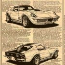 1969 - 1971 Phase III Corvette GT Illustrated Series No. 135