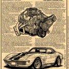 1969 ZL1 Corvette The Rarest Corvette Ever? Illustrated Series No. 149
