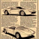 1970 XP-882 Corvette Show Car Illustrated Series No. 40