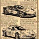 2008 Corvette Indy 500 Pace Cars