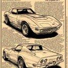 1970-1/2 - 1972 ZR-1 Corvette Illustrated Series No. 132