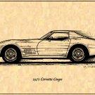1971 Corvette Coupe Profile