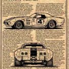 Heinz & Johnson 1972 Racing Corvette Illustrated Series No. 48