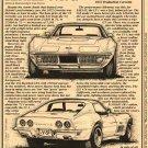 1972 Corvette Illustrated Series No. 47