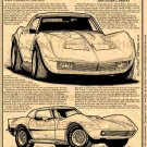 Joel Rosen's 1972 Motion/Maco Shark Corvettes Illustrated Series No. 156