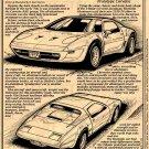 1973 XP-895 All-Aluminum Experimental Corvette Illustrated Series No. 53