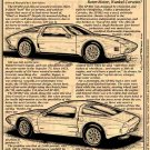 1973 XP-892 Mid-Engine 2-Rotor Experimental Corvette Illustrated Series No. 51