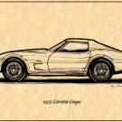 1975 Corvette Coupe Profile
