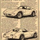 1977 Corvette Illustrated Series No. 59