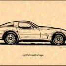 1978 Corvette Coupe Profile