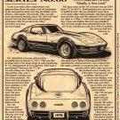 1978 Corvette Illustrated Series No. 60