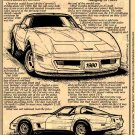 1980 Corvette Illustrated Series No. 63