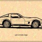 1981 Corvette Coupe Profile