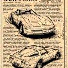 1981 Corvette Illustrated Series No. 64