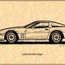 1984 Corvette Coupe Profile