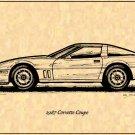 1987 Corvette Coupe Profile