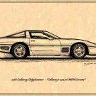 1988 Callaway Corvette Sledgehammer Profile