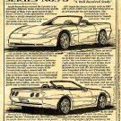 1989 Geneve Corvette Illustrated Series No. 78