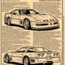 1988 Callaway Corvette Sledgehammer Illustrated Series No. 136