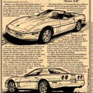 1989 Corvette Illustrated Series No. 79