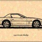 1990 Corvette Hardtop Profile