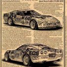 1991 ZR1 Speed Record Holder Corvette Illustrated Series No. 91