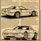 1991 ZR2 Engineering Study Corvette Illustrated Series No. 90