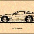 1993 Corvette Coupe Profile