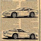 1995 ZR1 Corvette Illustrated Series No. 97