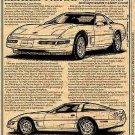 1995 Corvette Illustrated Series No. 98