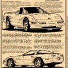 1996 Collectors Edition Corvette Illustrated Series No. 101