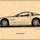 1998 Corvette Coupe Profile