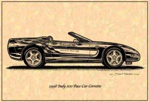 1998 Pace Car Corvette Profile