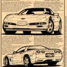 1999 Corvette Illustrated Series No. 108