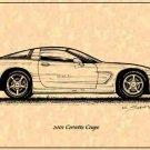 2001 Corvette Coupe Profile