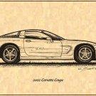 2002 Corvette Coupe Profile