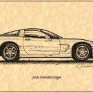 2003 Corvette Coupe Profile