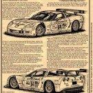 2005 C6.R LeMans Winning Corvette Illustrated Series No. 126