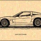 2006 Z06 Corvette Profile